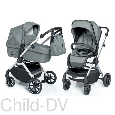 Коляска 2в1 Baby Design Smooth 07 Gray
