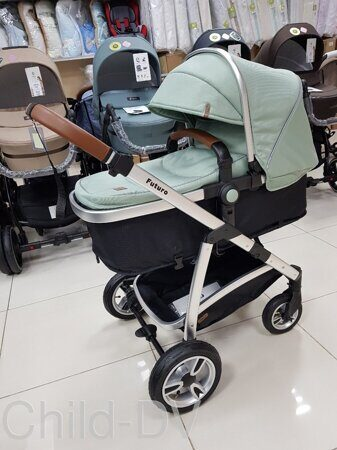 Коляска-трансформер Baby Tilly T T-165 Futuro (Forest green)