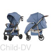 Прогулочная коляска Baby Tilly Eco T-166 (Azuro blue)