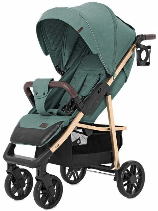 Прогулочная коляска Baby Tilly Eco T-166 (emerald green)