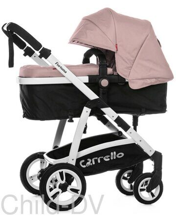 Коляска-трансформер Baby Tilly T T-165 Futuro (Coral pink)